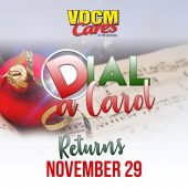 Save the Date - Dial a Carol is back November 29